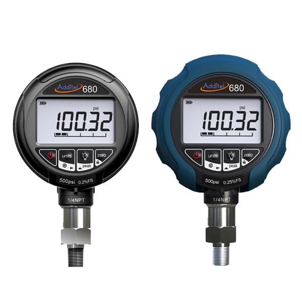 Data Logging Pressure Gauge : Additel adt digital pressure gauges data logging and