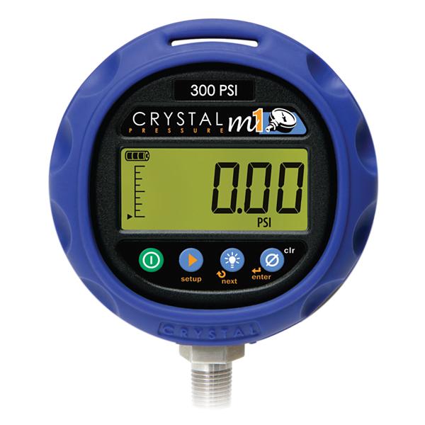 Crystal Engineering M1 Pressure Gauge Instrumentation