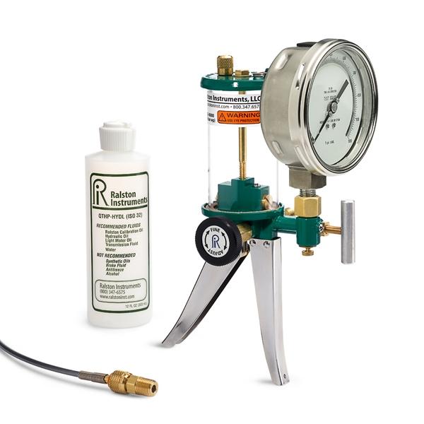 Hydraulic Hand Pump : Ralston hydraulic hand pumps instrumentation