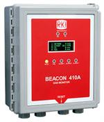 RKI Beacon 410A Four Channel Wall Mount Controller