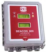 RKI Beacon 800 Eight Channel Wall Mount Controller